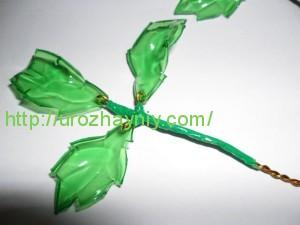 Поделки из пластиковых бутылок - розы