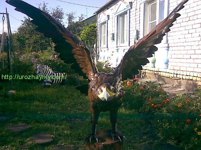 Как сделать орла дома
