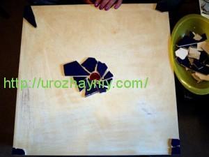 Декорирование битым кафелем