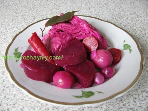 Приготовление маринованной капусты