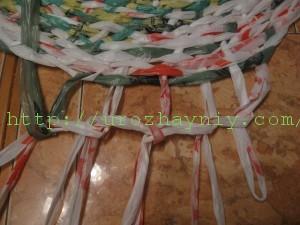 Плетение круглых ковриков