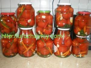 помидоры без уксуса