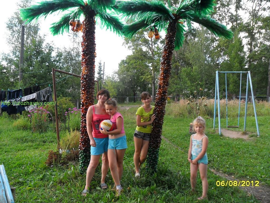 Пальма своими руками пошагово для начинающих