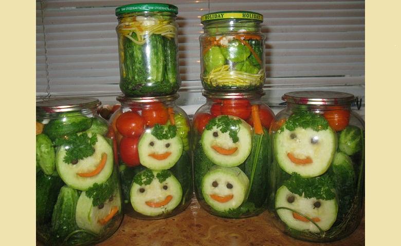 Как сделать салаты на зиму соленья