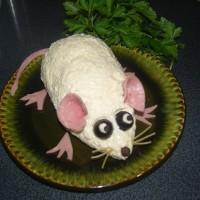 салат Сырная мышка