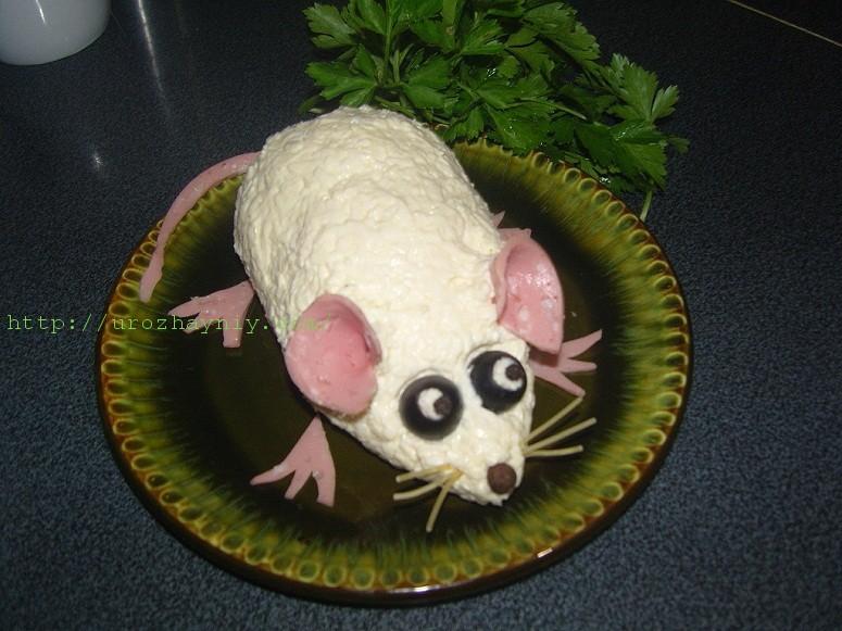 Салаты мимоза с мышками рецепты с фото