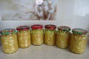 Яблочная заготовка для пирогов