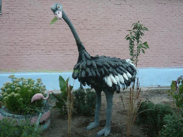 Как сделать поделку страус