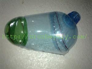 Галчонок из пластиковых бутылок своими руками