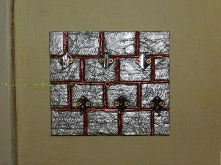 Ключница настенная из картона