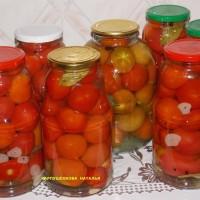 Консервированные помидоры на зиму