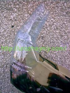 Как сделать павлина из пластиковых бутылок