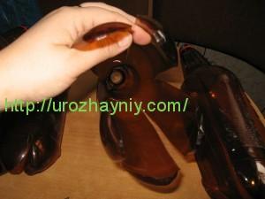 Шишка из пластиковой бутылки