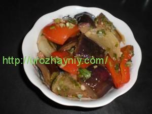 Рецепт маринованных овощей