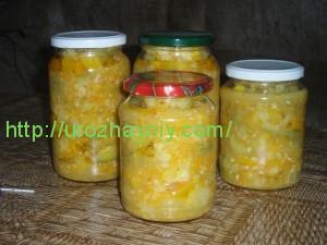Как приготовить консервированные кабачки