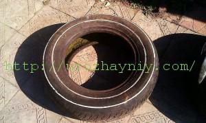 Клумбы из резиновых колес своими руками