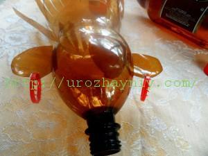 папуас из пластиковой бутылки