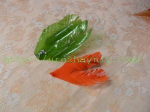 Петушок из пластиковых бутылок