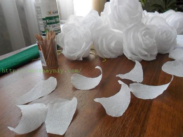 Как сделать из бумаги цветок мастер класс 515