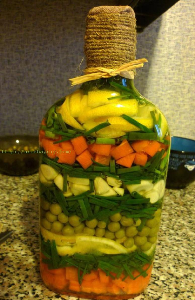 Овощи в бутылки своими руками фото фото 479